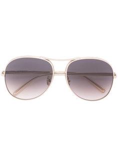 солнцезащитные очки-авиаторы Chloé