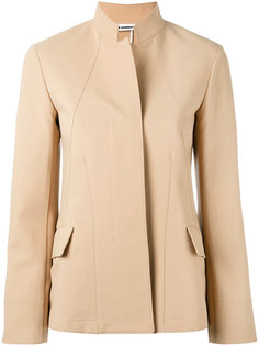 куртка с воротником-стойкой Jil Sander