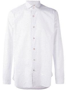 рубашка с мелким серым узором Dnl