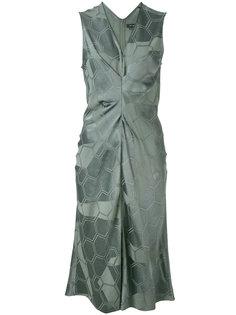 платье с геометрическим рисунком Isabel Marant