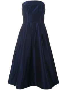 расклешенное платье без бретелей Aspesi