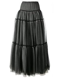 многоярусная юбка из тюля Twin-Set