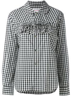 frilled gingham shirt Comme Des Garçons Girl