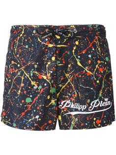 шорты для плавания с принтом Philipp Plein