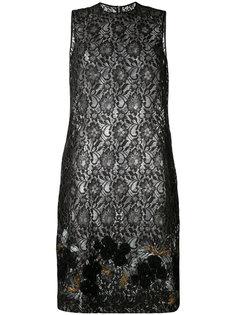 sheer lace shift dress Comme Des Garçons Tricot