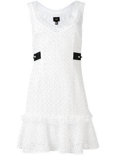 платье с вышивкой Cavalli Class