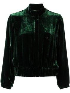 бархатная куртка на молнии Andrea Marques