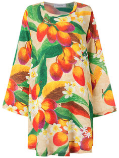 mango and floral pirnt dress Isolda