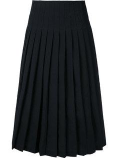 плиссированная юбка миди Lemaire