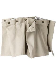 draped mini skirt Y / Project