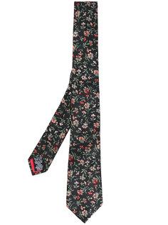 галстук с цветочной вышивкой Paul Smith