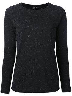 свитер с длинными рукавами A.P.C.