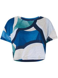 футболка с абстрактным принтом Puma