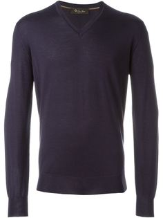 свитер c V-образным вырезом   Loro Piana