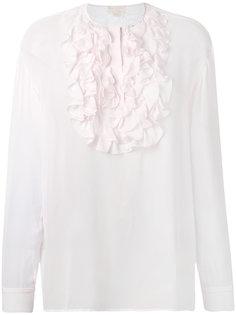 блузка с воротником из рюшей Giambattista Valli