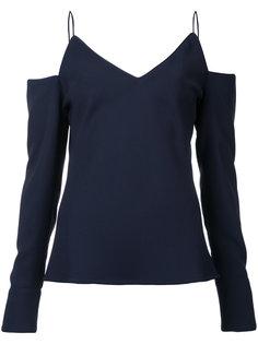 cold-shoulder blouse Christopher Esber