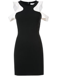 shoulder cut out dress Mugler