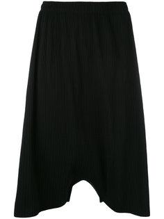 брюки с заниженной проймой в рубчик Issey Miyake Cauliflower