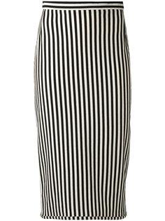 полосатая юбка Hache