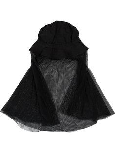 шляпа с сетчатой вуалью Masnada