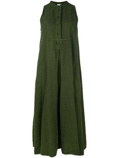 длинное платье без рукавов  Aspesi