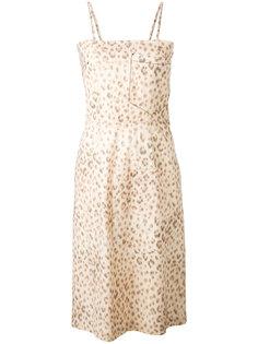 leopard print dress Hache