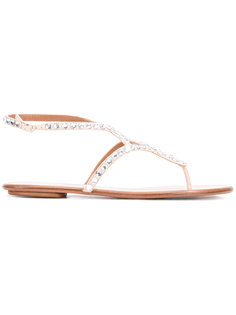 сандалии Hawaii Aquazzura