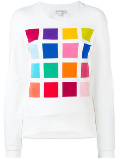 square print sweatshirt Io Ivana Omazic
