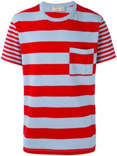 полосатая футболка Maison Kitsuné