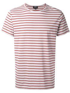 полосатая футболка A.P.C.