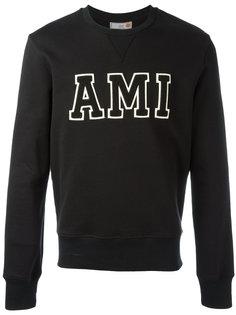 AMI Patch Sweatshirt Ami Alexandre Mattiussi