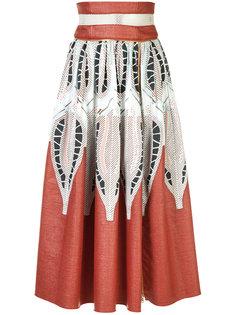 pattern print A-line dress Sophie Theallet