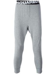 домашние брюки с логотипом Dsquared2