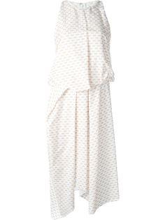 платье с наслоенным дизайном Chalayan