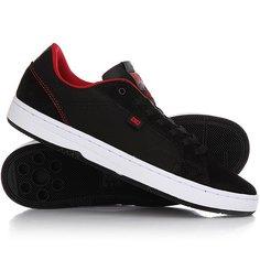 Кеды кроссовки низкие DC Astor Black/Red