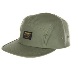 Бейсболка пятипанелька Carhartt Wip Military Cap Dollar Green