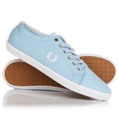 Кеды кроссовки низкие Fred Perry Kingston Twill Light Blue