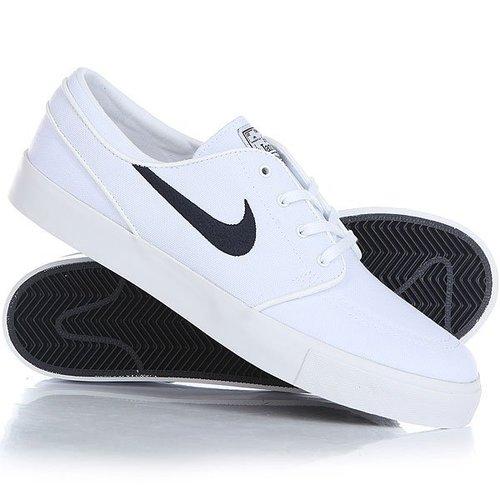 Кеды кроссовки низкие Nike Zoom Stefan Janoski Cnvs White
