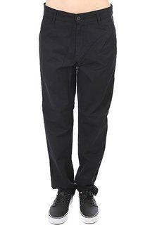 Штаны прямые женские Carhartt Vesper Pant Rinsed Black