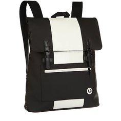 Рюкзак городской Fred Perry Matte Pu Back Pack Black/White