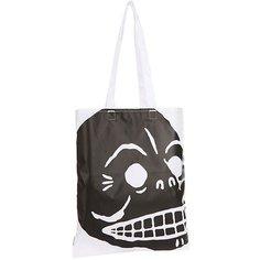 Сумка женская Cheap Monday Modern Tote Cover Skull White