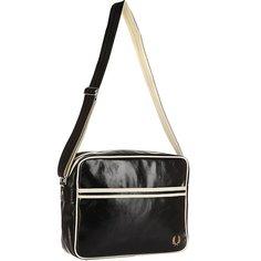 Сумка через плечо Fred Perry Classic Shoulder Bag Black/Beige