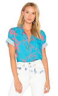 Flame trees shirt - DOUBLE RAINBOUU