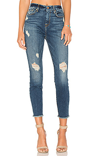High waist ankle skinny - 7 For All Mankind