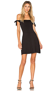 Superior tied shoulder dress - twenty