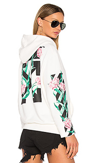 Tulips hoodie - OFF-WHITE