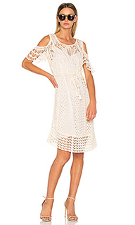 Миди платье с вышивкой крошё - See By Chloe