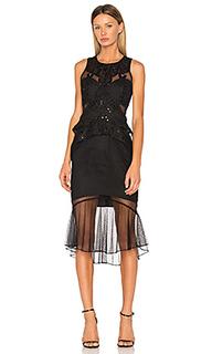 Платье миди poppy - THURLEY