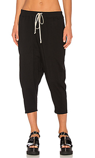 Drawstring cropped pants - DRKSHDW by Rick Owens