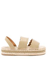 Scallop espadrille sandal - Zimmermann